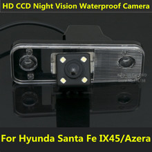 For Hyundai Azera SantaFe Santa Fe IX45 2009 2010 2011 2012 Car CCD Night Vision Backup Rear View Camera Waterproof HD Parking