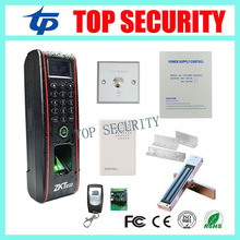 Free shipping TCP/IP linux system fingerprint and RFID ID card time attendance and access control keypad IP65 waterproof TF1700(China)