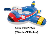 Children's Pool Inflatable Toys Pool Seat Pool Toy Water Fun Baby Swimming Seat Boat Pool Floating Row Baby Water Seat Water Fu