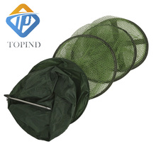 3pcs Collapsible Fishing Basket Dip Net Fishing Cage to Keep Fish Alive in the Water Fishing Accessories Tool