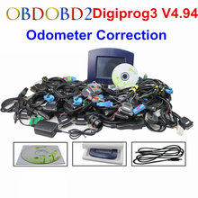 Newest Digiprog III V4.94 Digiprog3 Odometer Correction Tool Digiprog 3 Mileage Programmer Full Set With ST01 ST04 Cable