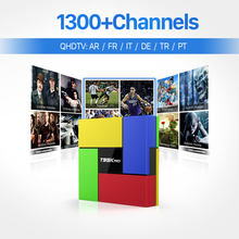 New IPTV Tv Box Android 6.0 Strong wifi Bluetooth & 1 Year QHDTV 1200 Arabic Europe French Spanish IPTV Channels 2GB DDR3 Tv Box