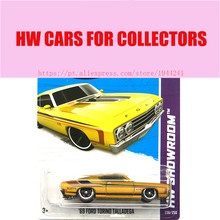 2013 New Hot 1:64 Cars wheels 69 ford torino tallandega car Models Metal Diecast Car Collection Kids Toys Vehicle  Juguetes