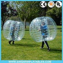 Free shipping 0.8mm PVC 1.2m diameter zorb football,inflatable body bumper ball,bubble soccer for kids