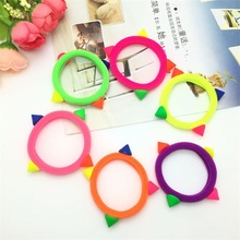 1PCS New Fluorescent Rivet Hair Accessories For Women Headband,Elastic Band For Hair For Girls,Hair Band Hair Ornaments For Kids