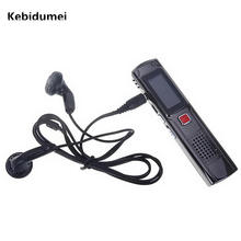 Kebidumei Classic Black Digital Recording Pen Portable 8GB Hot selling Hidden Digital Voice Recorder Device with LCD Display(China)