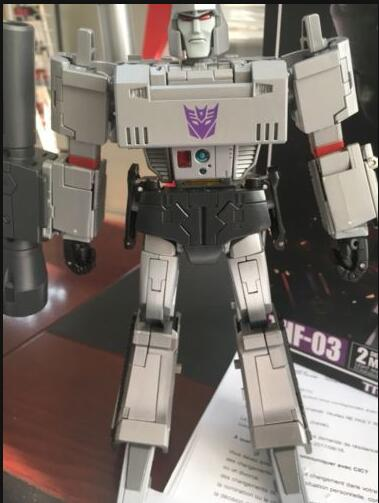 Deformation toy THF-03T transparent version of MP36 megatron head and chest