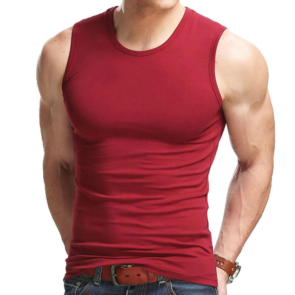High Flexibility Men Body Compression Base Layer Sleeveless Summer Vest Thermal Boy Fitness Tights Under Top Tees Tank Tops  (China)