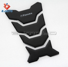 Motorcycle Oil Tank Stick Decal Pad Carbon Fiber Tank Sticker Decal Tank Protector Pad Sticker Suitable to Honda KTM BMW 21X13CM