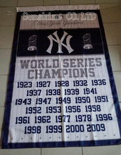 New York Yankees  27 Time World Series Champions Flag hot sell goods 3X5FT 150X90CM Banner brass metal holes NY2