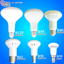 R39 R50 R63 R80 R95 R125 LED lamp E14 E27 Base LED light 3W 5W 7W 9W 12W 15W 20W led umbrella bulb Warm Cold white led spotlight