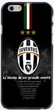 Italian Juventus Football Club  Printed Protective Mobile Phone Case For iPhone 6 6S 7 Plus SE 5 5S 5C 4 4S Back Shell Cover