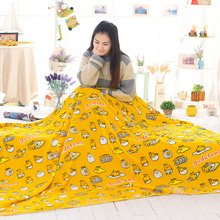 candice guo! plush toy cartoon gudetama lazy Egg yolk air-condition blanket nap blanket creative birthday gift 1pc(China)