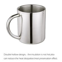 Stainless Steel Double Wall Water Mugs Drinking Cups for Children Kids Double Wall Food Grade Durable Safe