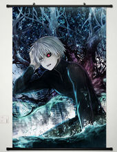 Home Decor Anime Tokyo Ghoul Wall Scroll Poster Fabric Painting Ken Kaneki -079