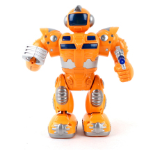 New action toys electric smart space walking dancing robot children music light toys action kids gift toys(China)