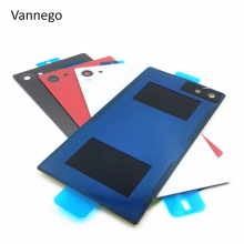 Buy Vannego Back Glass battery Cover Sony Xperia Z5 Compact z5 Mini E5803 E5823 Battery Back Door Cover Case housing NFC for $2.55 in AliExpress store