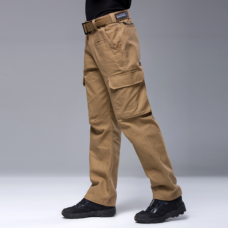 Autumn Winter Mens Waterproof Breathable Cargo Pants Warm Outdoor Climbing Hunting Wear-resisting Loose Trousers Plus Size<br>