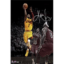 J0394- Kyrie Irving NBA All Stars MVP Basketball Pop 14x21 24x36 Inches Silk Art Poster Top Fabric Print Home Wall Decor