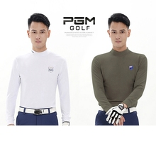 PGM Men Long-Sleeve Brief Figuring Style, Mens Golf Apparel Workout Shirt, Mens Long Sleeve Thicker and Warmer Can Be Underwear