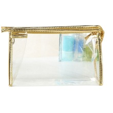 New Transparent Waterproof PVC Cosmetic Bag Useful Envelope Receive Toiletry Bags Makeup Bag Organizer 5 Colors To Choose LM76(China)