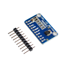 ADS1015 ADC ultra-compact 12-precision ADC module development board(China)