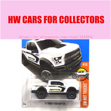 2017 New Hot Wheels 1:64 white 17 Ford F150 Raptor car Models Metal Diecast Car Collection Kids Toys Vehicle Juguetes(China)