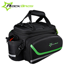 Rockbros Bike Rack Bags With Rain Cover Folding Mountain MTB Road Cycling Bicycle Rack Bag Rear Trunk Bag Backpacks Accessories