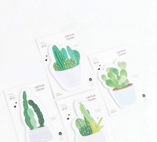 1Pcs Cactus Design Memo Pad Novelty Sticky Note Office Material Memos Post It Message Notes Supplies 012