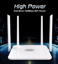 EDUP 5ghz wifi router 1200mbps Wlan WiFi Repeater Wireless 802.11ac high power wifi range extender 4*5dbi antenna wifi amplifier(China)