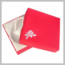Gift Box for Bracelets, Beading Rubber Bands, Christmas Gift Boxes, 9x9cm Paper Box 5 Colors Available PK001