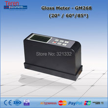 Portable gloss meter for floor maintenance
