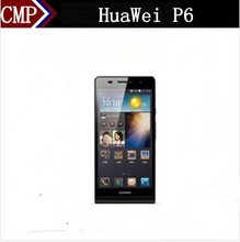 Original HuaWei Ascend P6 Mobile Phone Hisilicon K3V2 Quad Core Android 4.2 4.7 Inch IPS 1280X720 2GB RAM 8GB ROM 8.0MP