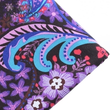 VB Cotton Fabric Materials For Patchwork Needlework Sewing Hometextile For Table Cover Bags Dress Pillow For Purple 50x150cm