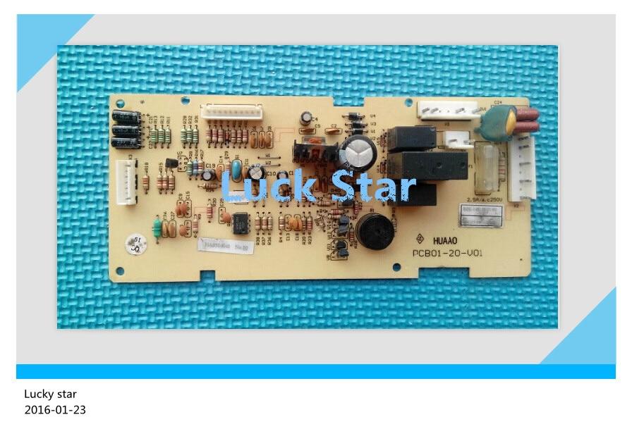 95% new for Rongsheng refrigerator computer board circuit board BCD-172AY PCB01-20-V01 PCB01-20-V02 BDG23-95 board good working<br>