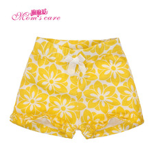 Mom's care Summer Childrens Shorts Baby Girs Infant Toddler shorts 100% Cotton Clothes Wear Kid Knickers Breeches Trousers Pants(China)