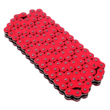 Universal RED 520 x 120 Links Motorcycle ATV O-Ring Drive Chain 520-Pitch 120-Links(China)