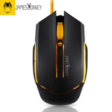 James Donkey112 Wired USB Gaming Mouse Optical 2000 DPI 6 Buttons Super Cool backlight For Game CF LOL Mac PC Office Laptop Mice