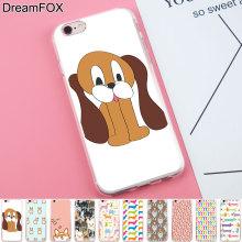 Buy DREAMFOX K190 Sausage Dog Soft TPU Silicone Case Cover Apple iPhone 8 X 7 6 6S Plus 5 5S SE 5C 4 4S for $1.21 in AliExpress store