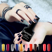 Sarness New 3 In1 UV Gel Nail Polish Soak Off Lucky Color One Step Gel Nail Art Professiona Adhesive Nail Primer Gel Lacquer(China)