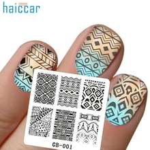 Hot Best Deal Beauty Girl  DIY Nail Art Image Stamp Stamping Plates Manicure Template Dec.13