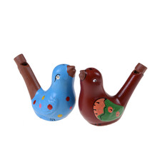 MYPANDA Drawing Water Bird Whistle Bathtime Musical Toy for Kid Early Learning Educational Children Gift Toy Musical Instrument(China)