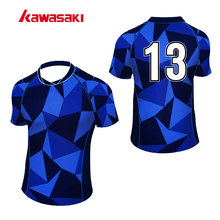 Kawasaki Brand Practice Rugby Jersey Top For Mens Women Custom Collage Exercise Training Sport Rugby Game Shirts Jersye(China)