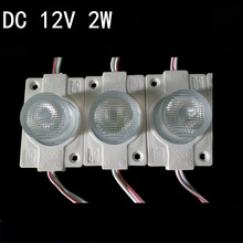 1.5W 2835 side-emitting DC12V LED Sign Led Backlights COB module high bright with len IP65 white  For Channel Letters White
