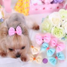 100pcs/lot Pet Grooming Bows Small Dog hair accessories grooming  bows puppy hair clips