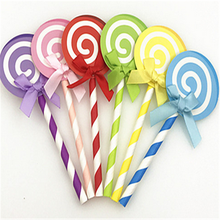 6PCS birthday cake, jam, cake, flag, baked decoration, insert card, lollipop party, party today(China)