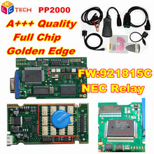 Russion Stock! A+ Quality PCB Board Lexia Lexia3 PP2000 Full Chips With Diagbox V7.83 Lexia 3 Firmware No.921815C DiagnosticTool(China)