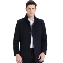 Hodo Men's Wool Coat Overcoat Men Overcoat Wool Long Warm Winter Woolen Overcoat(China)