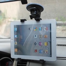 Car Flat Computer Holder Tablet Support Tablet Holder iPad Holder GPS Holder Suitable for iPad 2/3/4/air/mini Angle adjustable