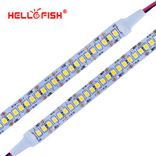 Hello Fish 2835 LED strip SMD 1200 LED chip 12V LED Flexible PCB light LED backlight Strip LED tape 240 LED/m  White/Warm White